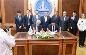 لربط الصناعة بالبحث العلمى.. شراكة إستراتيجية بين هندسة عين شمس وCRBC الصينية لإنشاء واحة التكنولوجيا بالعبور