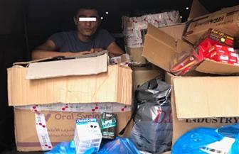ضبط 2 مليون عبوة لـ200 صنف من عقاقير وأدوية مجهولة المصدر بمخزن بالإسكندرية