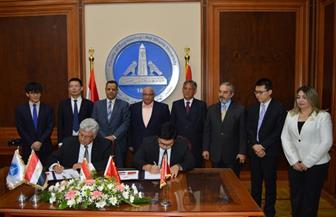 تعاون مصري - صيني بهندسة عين شمس لإنشاء واحة التكنولوجيا | صور