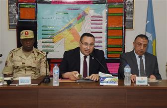 محافظ الإسكندرية يترأس برنامج إدارة الأزمات والكوارث لمحافظة الإسكندرية | صور