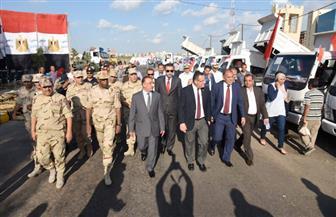 محافظ الإسكندرية يتفقد المعدات الثقيلة المجهزة لمواجهة الأزمات