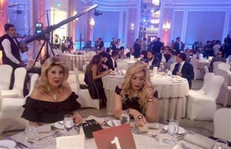 نادية الجندي وصابرين وهشام عباس أول الحاضرين في حفل عمرو أديب | صور