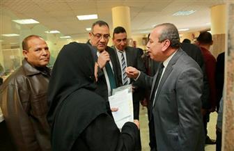 محافظ كفر الشيخ يتفقد المركز التكنولوجي لخدمة المواطنين | صور