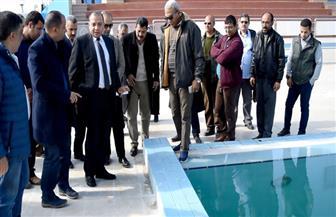 رئيس جامعة بنى سويف يعلن موعد تشغيل مجمع الملاعب الرياضية وحمام السباحة الأوليمبي