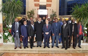 """خلال استقباله 40 دبلوماسيا إفريقيا.. """"التراس"""": نضع خبراتنا وقدراتنا الفنية لخدمة قارتنا السمراء"""