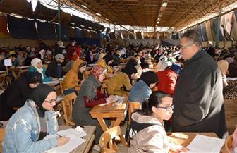 نائب رئيس جامعة عين شمس يتفقد لجان امتحانات كلية الحقوق | صور