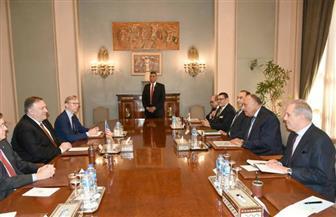 وزير الخارجية: نقدر المساعدات الأمريكية لمصر لخدمتها الجانبين بالتساوي