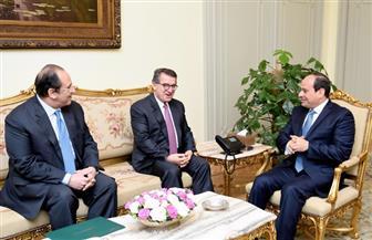 الرئيس السيسي يستقبل مدير عام جهاز المخابرات اليوناني