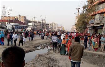 لليوم الخامس.. شرطة بنجلادش تطلق غازا مسيلا للدموع لتفريق محتجين من عمال صناعة الملابس