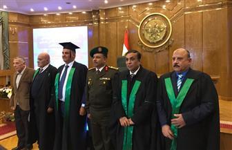 """ضابط يمني يحصل على الدكتوراه في """"مواجهة أجيال الحروب الحديثة"""" من أكاديمية ناصر العسكرية"""