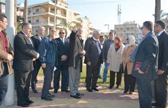 محافظ الدقهلية يصطحب عددا من المستثمرين في جولة ميدانية بمدينة جمصة  صور