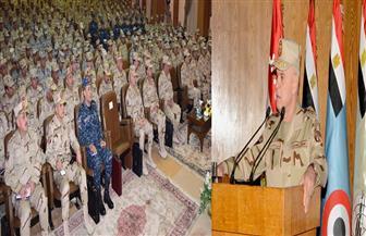 رئيس أركان حرب القوات المسلحة يلتقي عددا من القادة الجدد