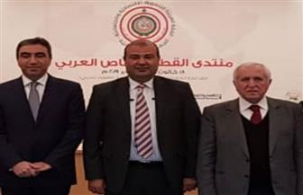 خالد حنفي يبحث مع وفد لبناني التحضيرات لمنتدى القطاع الخاص العربي ببيروت 