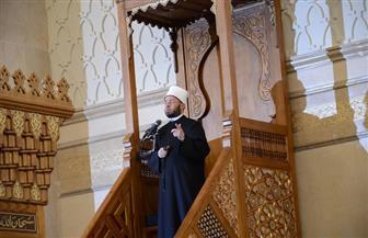 أسامة الأزهري يلقي أول خطبة من مسجد الفتاح العليم بالعاصمة الإدارية