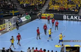 مصر تتأخر أمام السويد في الشوط الأول من مونديال اليد.. وحضور مميز لكريم هنداوي