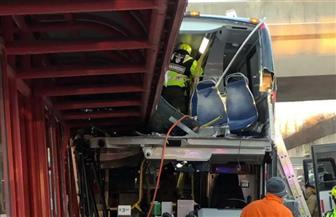 مصرع وإصابة 26 شخصا في تصادم حافلة بمحطة في كندا