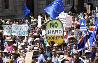 آلاف المتظاهرين في لندن يطالبون بإجراء انتخابات عامة جديدة