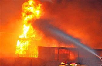 """مصدر بـ""""إيجاس"""": السيطرة على حريق بخط غاز مغذي لمصنع أسمنت القطامية"""