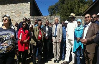 سفير مصر بإثيوبيا يشارك في استكشاف معالم أديس أبابا والتعرف على ثرائها الثقافي   صور