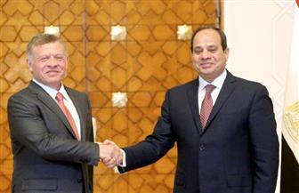 العلاقات المصرية - الأردنية.. توافق وتعاون عربي وإقليمي و11 لقاء جمع بين الرئيس السيسي والعاهل الأردني