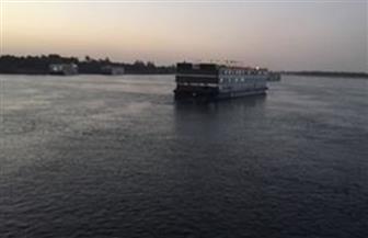 وقف حركة الملاحة النهرية للبواخر السياحية بأسوان بسبب الطقس السيئ