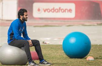مروان محسن يجرى أشعة اليوم.. وسعد سمير ينتظم فى التدريبات