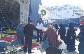 انطلاق أولى رحلات العمرة من ميناء سفاجا البحري   صور
