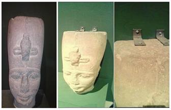 """""""الآثار"""" ترد على واقعة تثبيت رأس تمثال بـ""""مسامير"""": المتاحف العالمية تستخدم الطريقة ذاتها"""