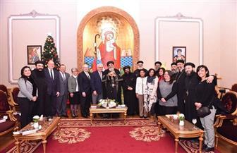 البابا تواضروس يستقبل قادة هيئة ستيب فورورد   صور