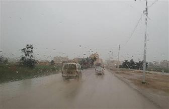أمطار غزيرة على محافظة شمال سيناء