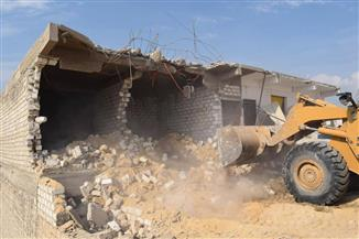 """محافظ المنيا يتابع تنفيذ الموجه 16 لحملات """"حق الشعب"""""""