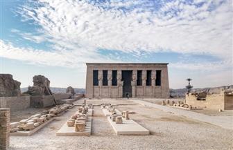بدء تطوير المنطقة المحيطة بمعبد دندرة لتحويلها إلى متحف مفتوح | صور