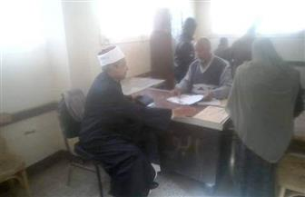 رئيس منطقة الأقصر الأزهرية يتفقد سير الامتحانات ويشدد على الالتزام بارتداء الزي الأزهري   صور