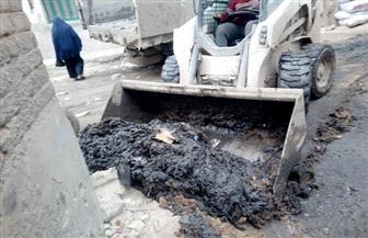رئيس مدينة فوه بكفرالشيخ يقود حملة لإزالة الإشغالات ورفع القمامة من الشوارع   صور