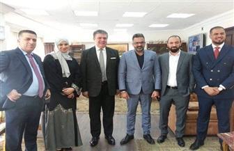 بروتوكول تعاون بين الوطنية للإعلام وقنوات الفجيرة الإماراتية للبث المشترك| صور