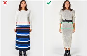 للطويلة والقصيرة والبدينة والسمراء.. احذرن هذه الأخطاء في اختيار الملابس