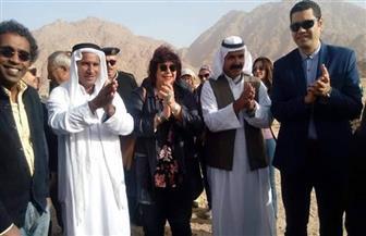وزيرة الثقافة تشهد ختام فعاليات مشروع القوافل الثقافية الثالثة بالوديان في جنوب سيناء | صور