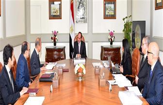 ننشر تفاصيل اجتماع الرئيس السيسي مع لجنة تطوير منطقة المنتزه
