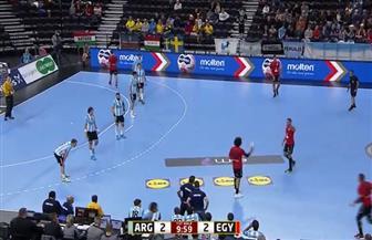بعد مرور 10 دقائق.. التعادل 2 - 2 بين مصر والأرجنتين بكأس العالم لكرة اليد