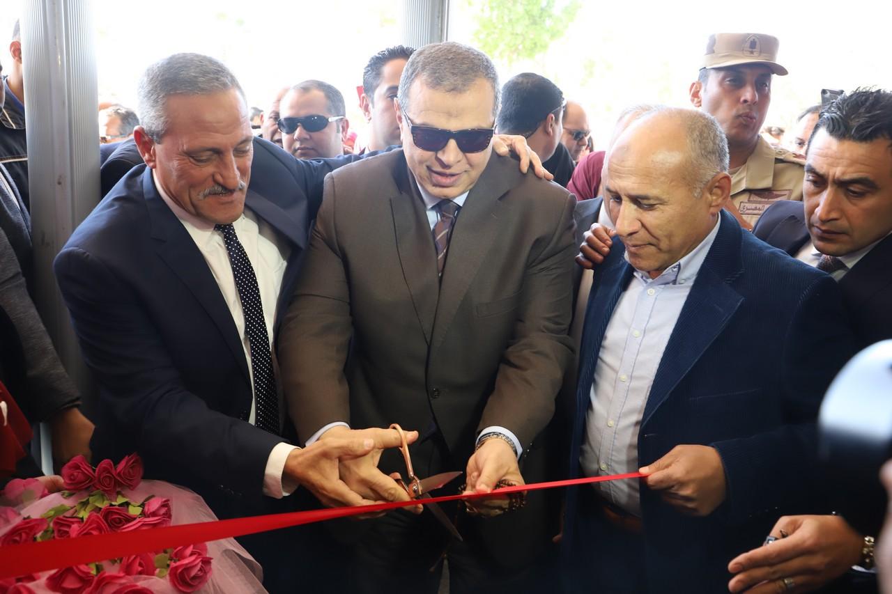 سعفان  أثناء ملتقى التوظيف بالإسماعيلية: الدولة تبذل جهودا مكثفة لخلق فرص عمل لائقة للشباب -