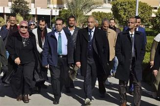 رئيس جامعة قناة السويس: خطة لإحلال وتجديد المسطحات الخضراء| صور