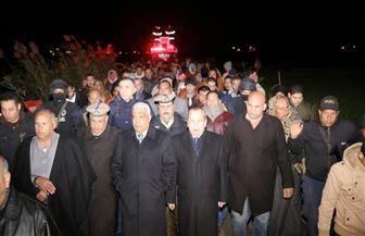 """الآلاف من أهالي قرية المرابعين يشيعون جنازة الشهيد المجند """"عبدالونيس صبحى"""""""
