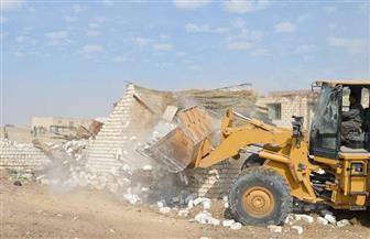 إزالة 183 تعديا على أراضي الدولة بمحافظة الدقهلية