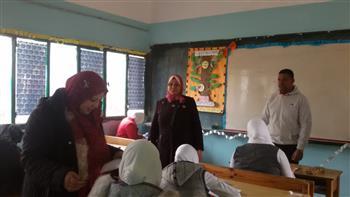 تعليم كفر الشيخ: عدم تلقي شكاوى من صعوبة امتحانات الصف الأول الثانوي  صور