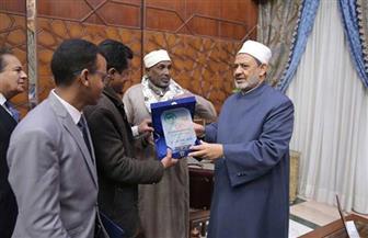 شيخ الأزهر يستقبل رئيس مجمع علماء الإسلام بالصومال