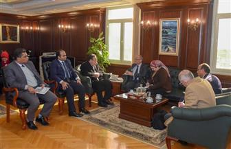 محافظ الإسكندرية يجتمع بالأمين الدائم لمنظمة العمد والعواصم الناطقة بالفرنسية | صور