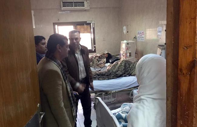 وكيل صحة الأقصر في جولة لمستشفى القرنة يحذر من غياب الأطباء والتمريض  صور -