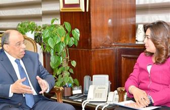 وزير التنمية المحلية يعقد اجتماعا مع محافظ دمياط