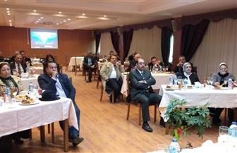 لبحث الفرص الاستثمارية.. ميناء الإسكندرية يستقبل وفدا من جمعية رجال الأعمال| صور