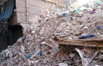 إخلاء منزل بسوهاج بعد انهيار طابقين منه